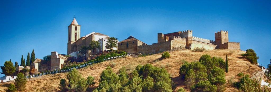 Iznajar Castle Cordoba Andalucia