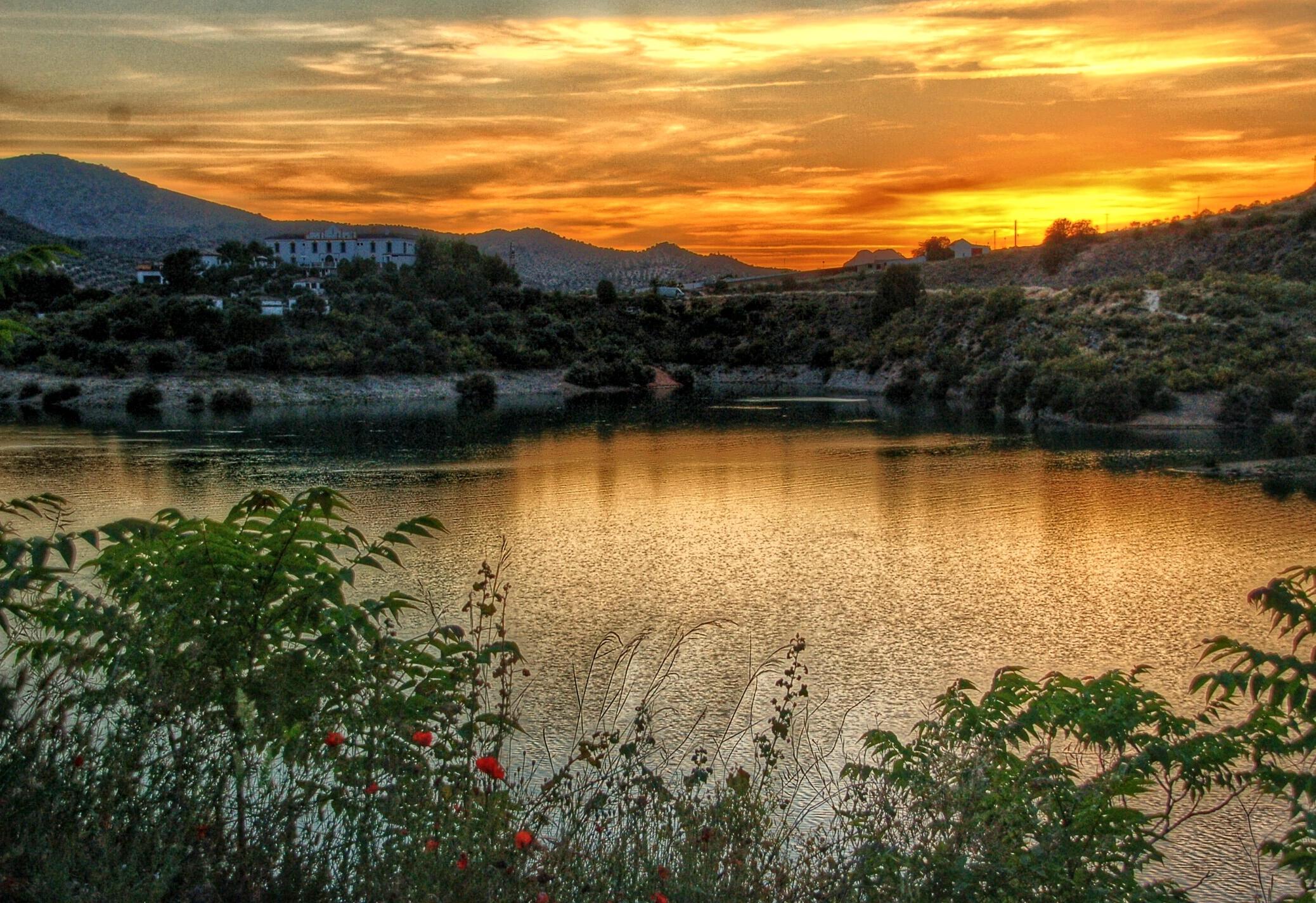 Iznajar Valdearenas Beach Andalucia