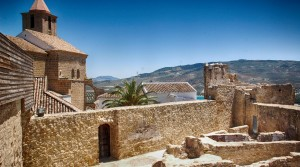Iznajar Castle, Andalucia, Spain