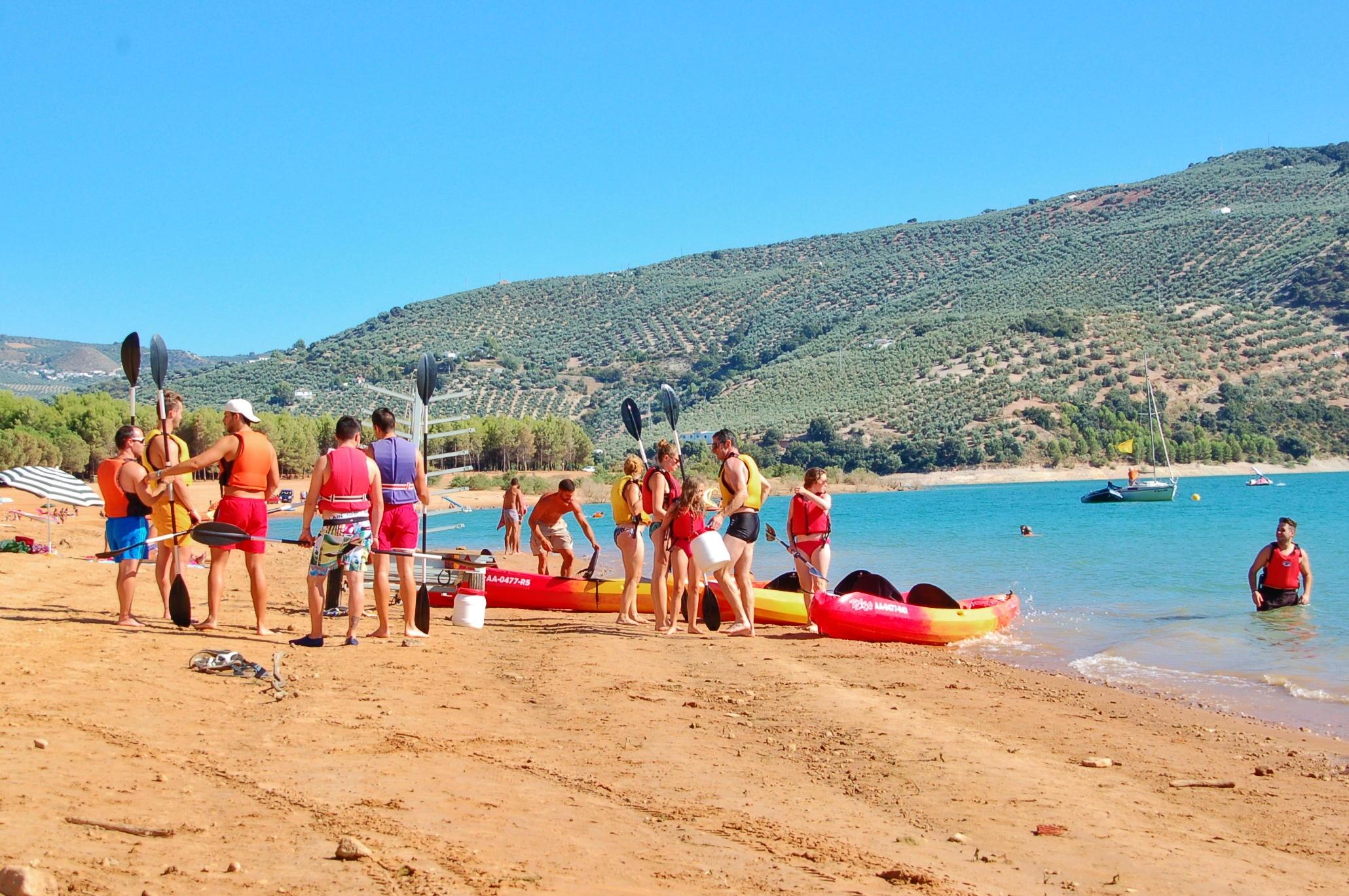 Water Sports Beach Iznajar