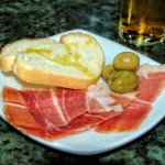 Food Drink Olives Wine Cheese Jamon Iznajar Andalucia