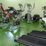 Gym at Leisure Centre Iznajar