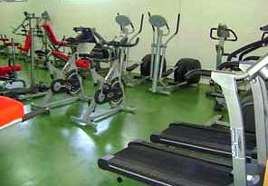 Gym at Leisure Centre Iznajar