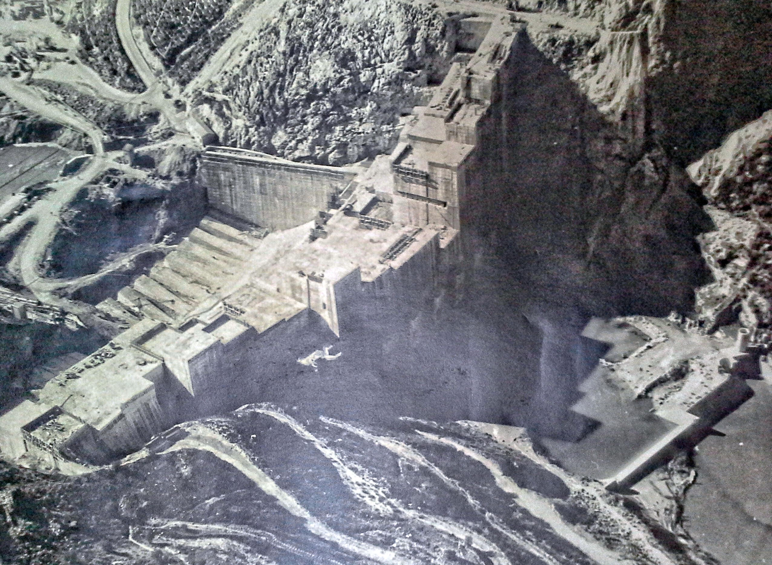 Iznajar Heritage Dam