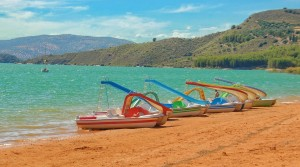 Sailing, Pedalos & Kayaks on Lake Iznajar