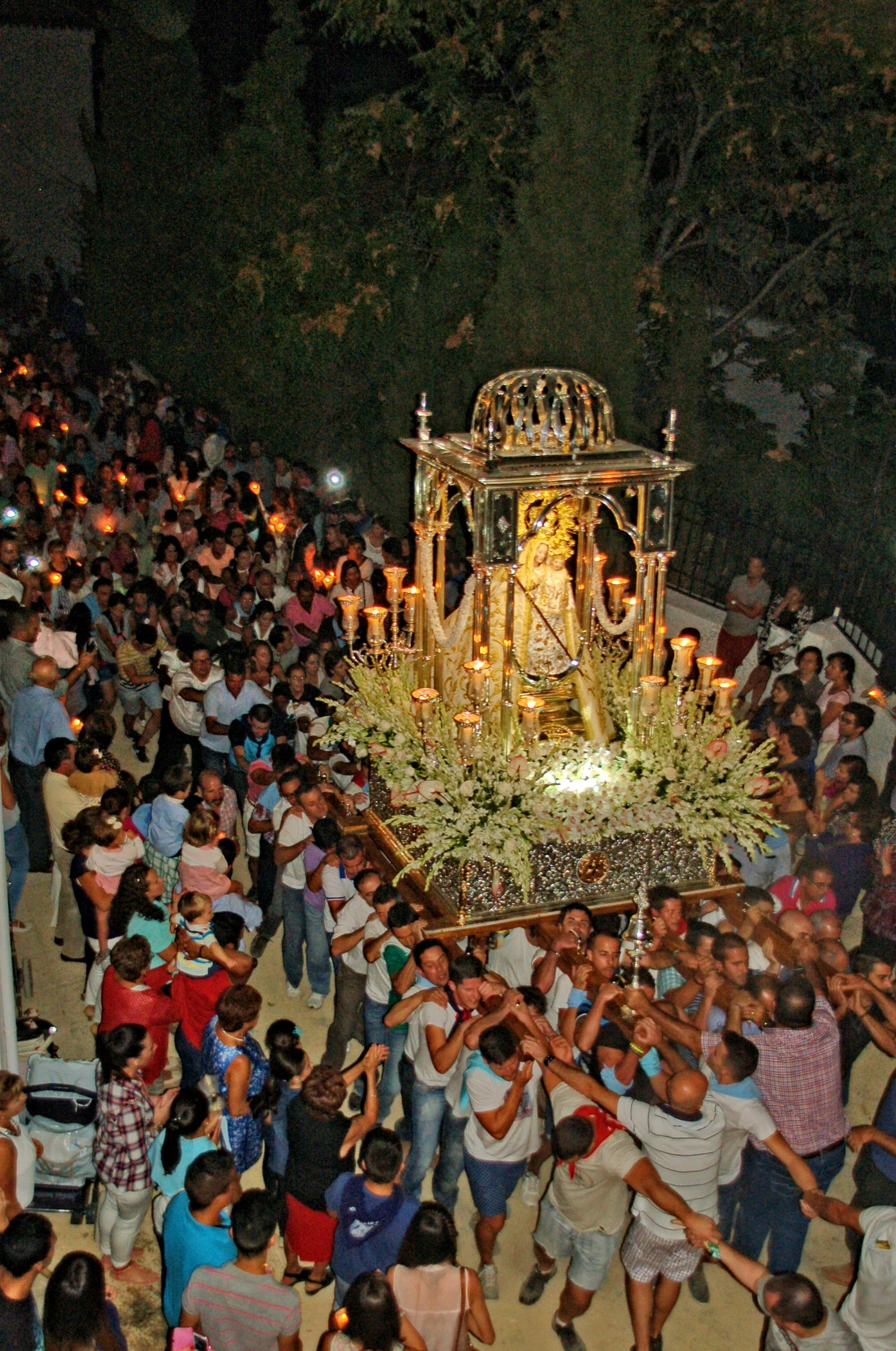 Iznajar Feria Procession
